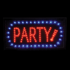 Party Sign Led