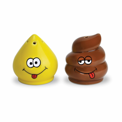 Pee & Poop Salt and Pepper Shakers