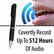 Pen Voice Recorder and MP3 Player