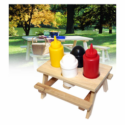 Picinic Table Condiment Set