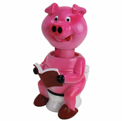 Pig on the Potty Soap Dispenser