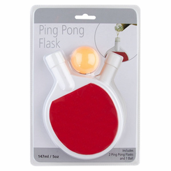 Ping Pong Paddle Flask