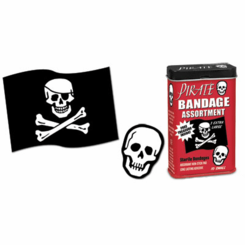 Pirate Deluxe Bandage Assortment