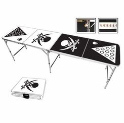 Pirate Skulls Beer Pong Table