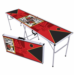 Playing Card Tournament Pro Beer Pong Table