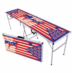 Political Party Face Off Beer Pong Table