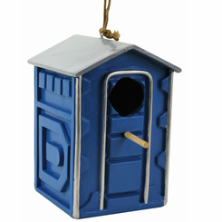 Portable Potty Birdhouse