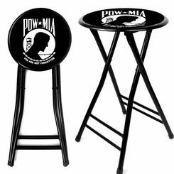 POW 24Inch Cushioned Folding Stool
