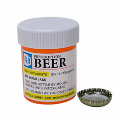 Prescription Beer Bottle Opener