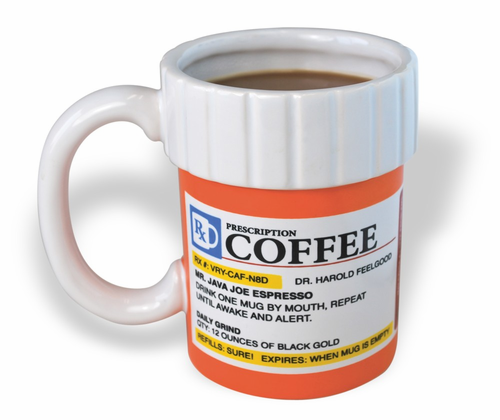 The Prescription Coffee Mug - Click to enlarge