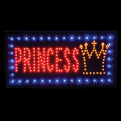 Princess Led Sign