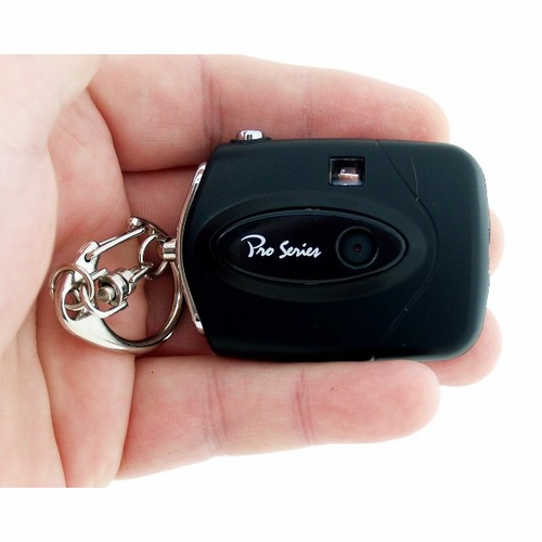 Pro Series Mini Key Chain Camera - Click to enlarge