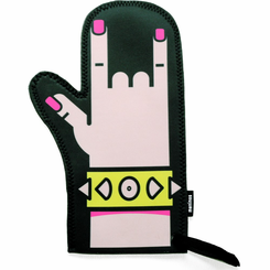 Punk Rock Oven Mitt