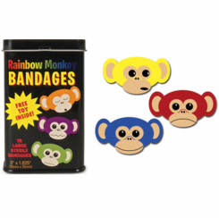 Rainbow Monkey Bandages