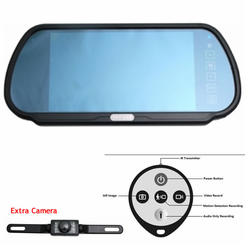 Rearview Mirror Hidden Camera