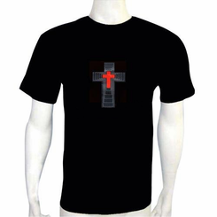 Red Cross Light Up LED Shirt