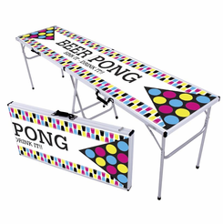 Retro Cups Beer Pong Table