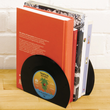Retro Vinyl Record Bookends