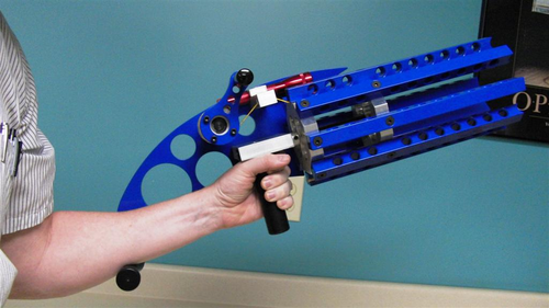 Rubber Band Gatling Gun  - Click to enlarge