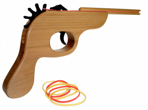 Rubber Band Gun - Click to enlarge