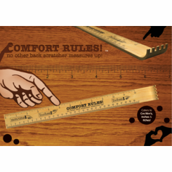 Ruler Back Scratcher Combo