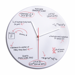 Science Quiz Clock
