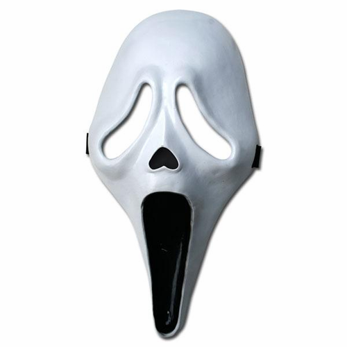 Scream Ghostface Resin Mask - Click to enlarge