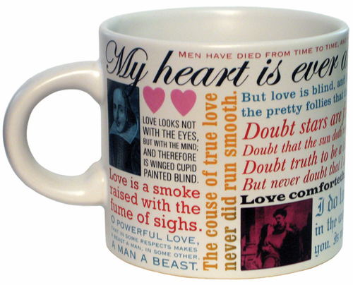 Shakespearean Love Mug - Click to enlarge