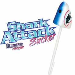 Shark Attack Sucker Lollipop