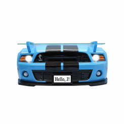 Shelby 2013 Super Snake GT500 Front Wall Shelf