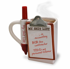 The Shit List Mug