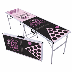 Shoot Like A Girl Beer Pong Table