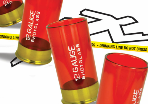 Shotgun Shell Shot Glasses - Click to enlarge