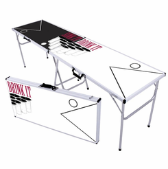 Sink-It-Drink-It Beer Pong Table