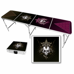 Skull Dagger Beer Pong Table