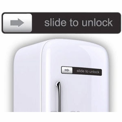 The Slide To Unlock Magnet