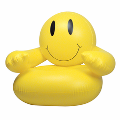 Smiley Face Inflatable Chair