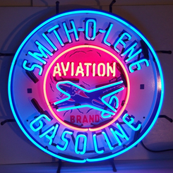 Smith-O-Lene Gasoline Neon Sign