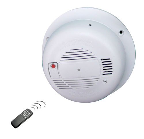 Smoke Detector Hidden Camera - Click to enlarge