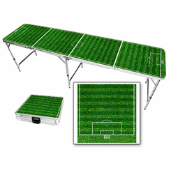 Soccer Field Beer Pong Table
