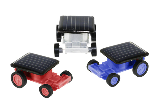 Solar Car - 3 pack - Click to enlarge