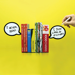 Speech Bubble Bookends