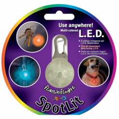 SpotLit L.E.D. Carabiner Light Disc-O