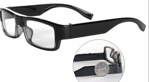 Spy Glasses - Hidden Camera Eyeglasses! - Click to enlarge
