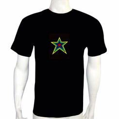 Star Light Up LED Shirt