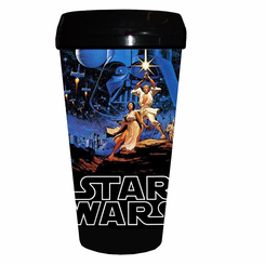 Star Wars A New Hope 16oz Plastic Travel Mug