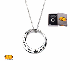 Star Wars I Love You, I Know Necklace