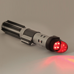 Star Wars Red Lightsaber Flashlight