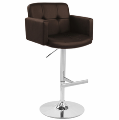 Stout Barstool Brown BS-TW-STOUT-BN