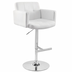Stout Barstool White BS-TW-STOUT-W
